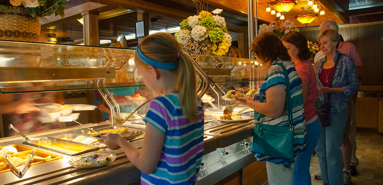 Cherokee NC Restaurants - Country Cooking - Family Friendly